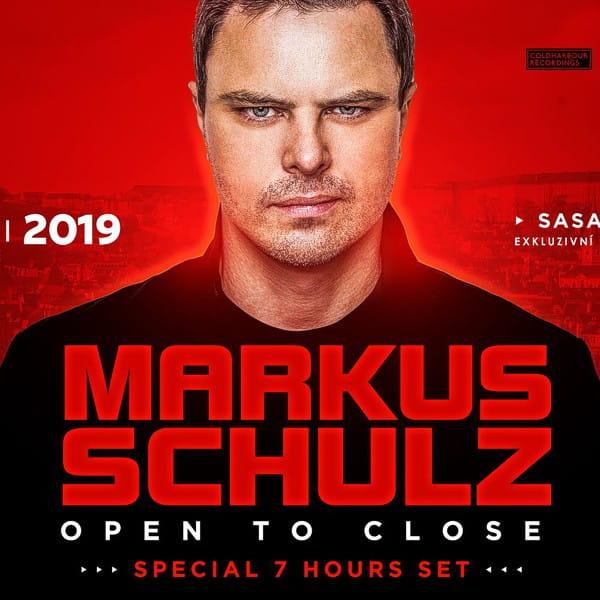 Markus Schulz - Open to Close @ SaSaZu, Prag