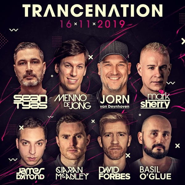 Trancenation 2019 @ Mecca Club, Prag